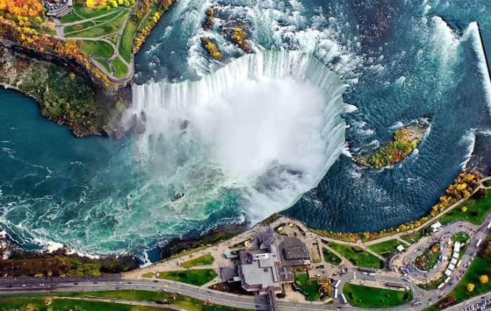 Ниагарский водопад, Канада.