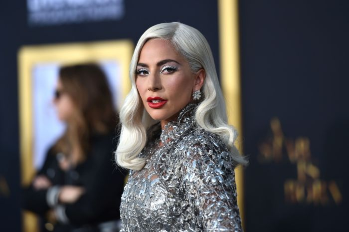 Леди Гага и её навыки мейкапа. \ Фото: google.com.