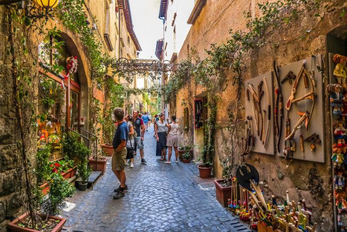Умбрия  — «зелёное сердце Италии».