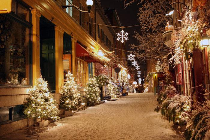 Квебек — один из немногих городов на североамериканском континенте, где сохранилась франкоязычная культура.