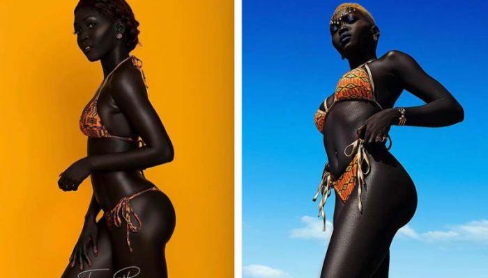 Чернее ночи: темнокожая модель, ломая стереотипы о красоте, покорила индустрию моды