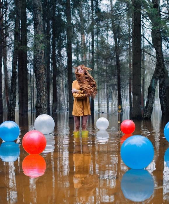Наводнение. Автор: Платон Юрич.