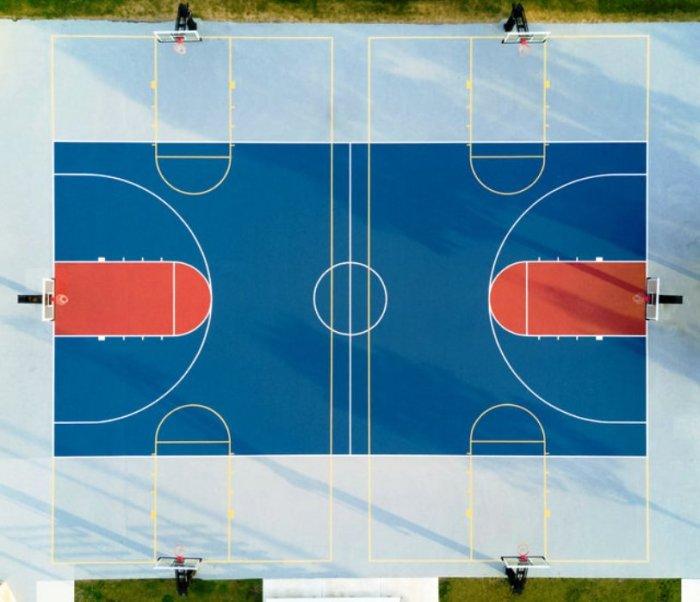 Ничто так не радует перфекциониста, как баскетбольная площадка.