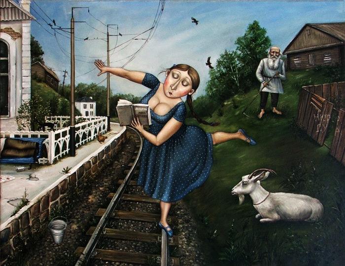 Анна Каренина. Автор: Анжела Джерих.