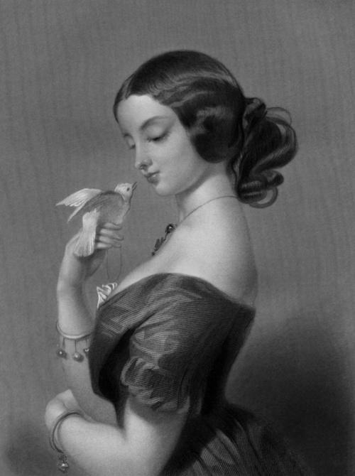 Мисс Эллен Пауэр. Автор: Э. Лендсир.