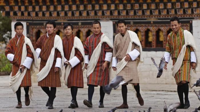Гхо, Бутан. \ Фото: mercitour.com.