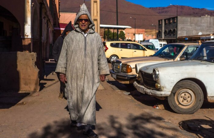 Марокканская национальная одежда. \ Фото: google.com.