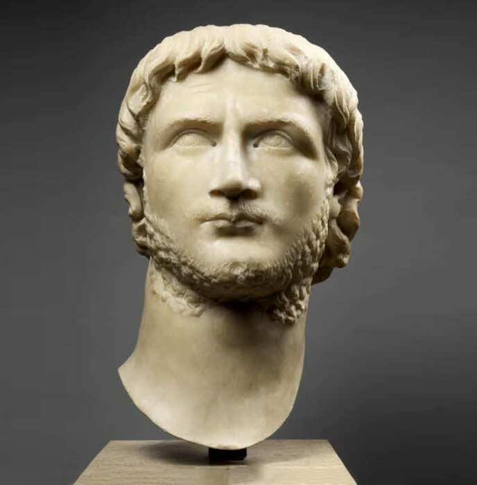 Портрет императора Галлиена, 261 год н. э. \ Фото: louvre.fr.