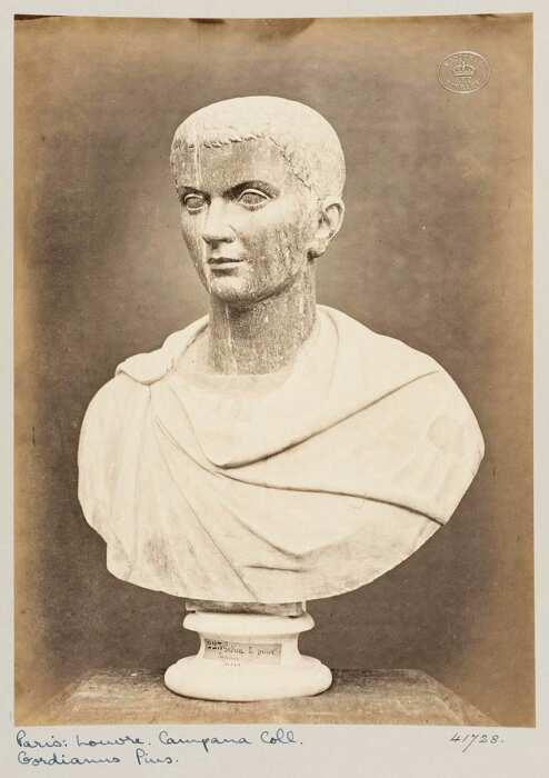 Портрет-бюст императора Гордиана III. \ Фото: collections.vam.ac.uk.