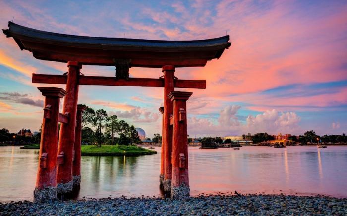 Мост в сакральный мир. Тории, или Небесные Врата.