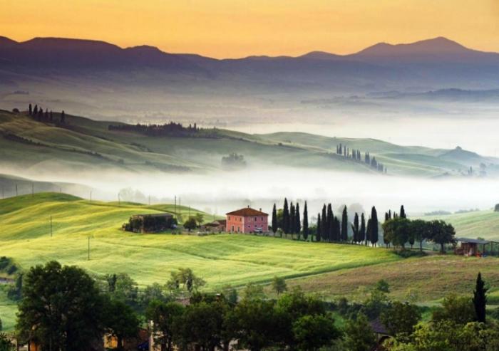 Прекрасная Тоскана. Италия.