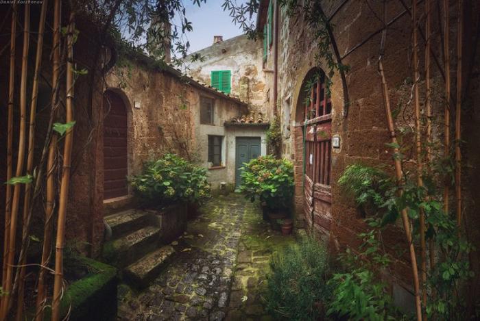 Улочки в Тоскане.