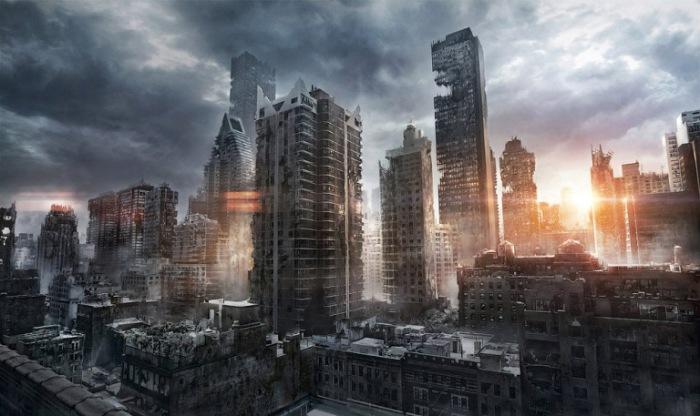 Город-призрак.