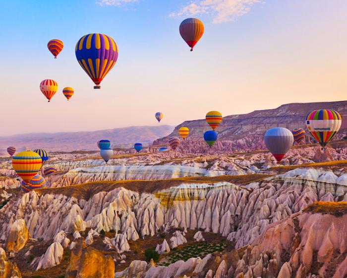Воздушные шары Каппадокии.