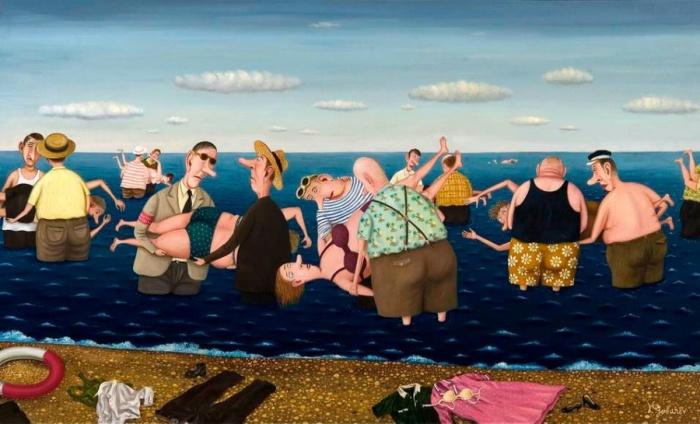 Уроки плавания в ожидании глобального потепления. Автор: Валентин Губарев.