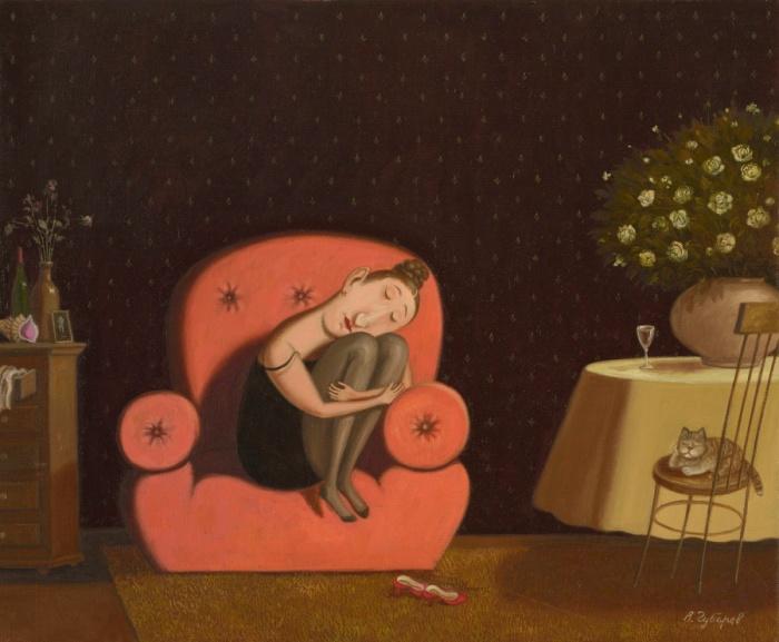 Розовый сон. Автор: Валентин Губарев.