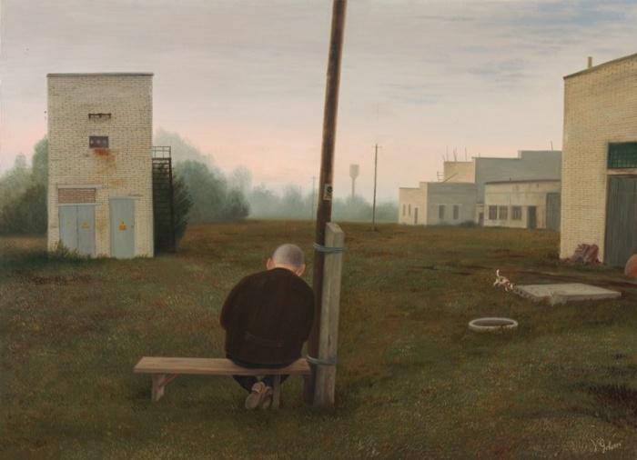 В ожидании восхода солнца. Автор: Валентин Губарев.
