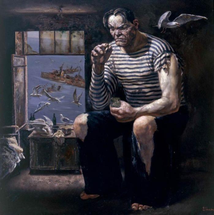 Морская душа. Автор: Василий Шульженко.