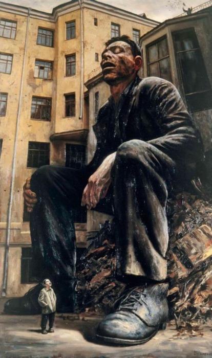 Спящий. Автор: Василий Шульженко.