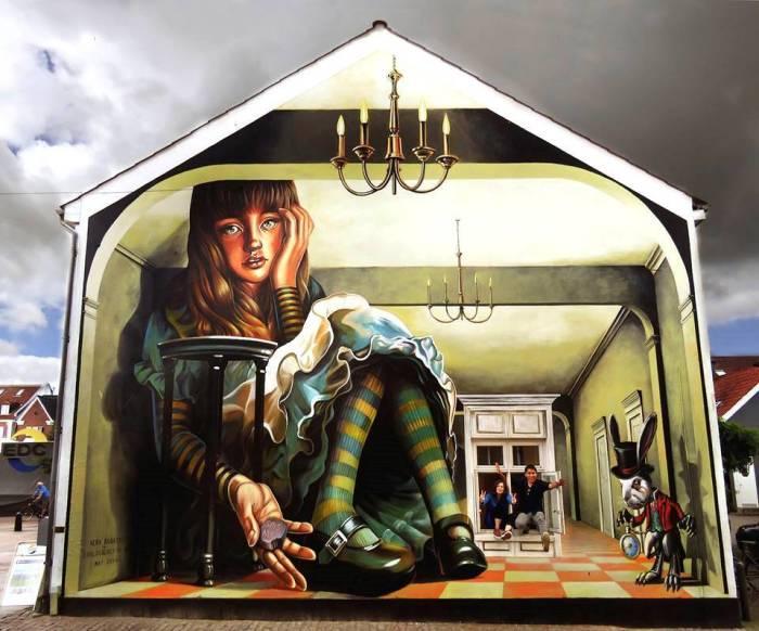 Кукольный домик. Автор: Vera Bugatti.