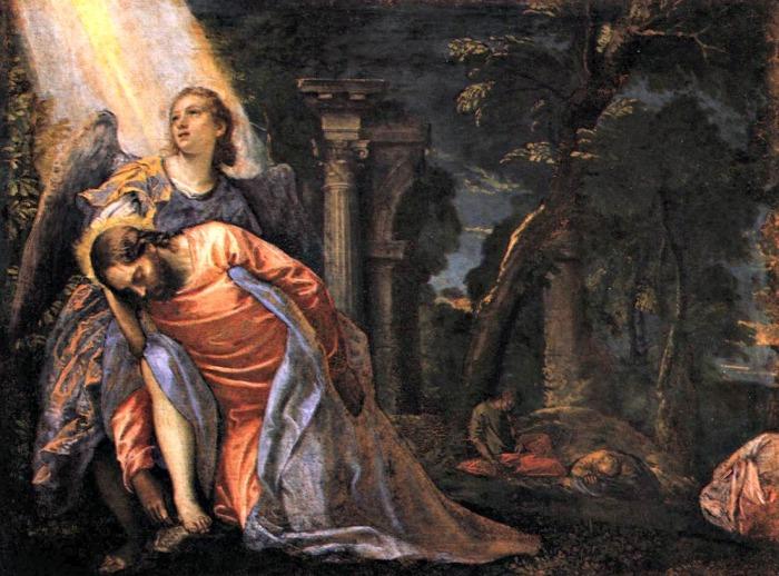 Христос в Гефсиманском саду. \ Фото: blogspot.com.