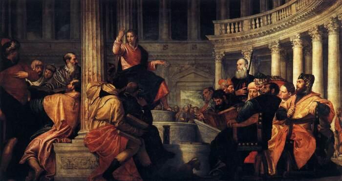 Иисус среди врачей. \ Фото: commons.wikimedia.org.