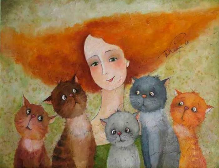 Портрет на фоне. Автор: Виктория Кирдий.