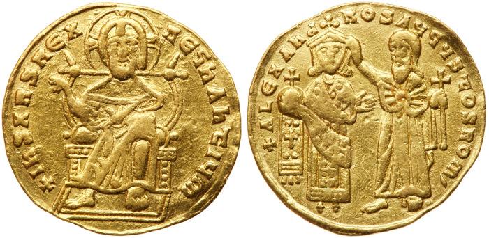 Монеты Византийской империи. / Фото: coinarchives.com.