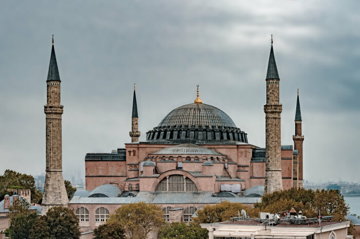 Собор Святой Софии, Стамбул, Турция. / Фото: libertador.ru.