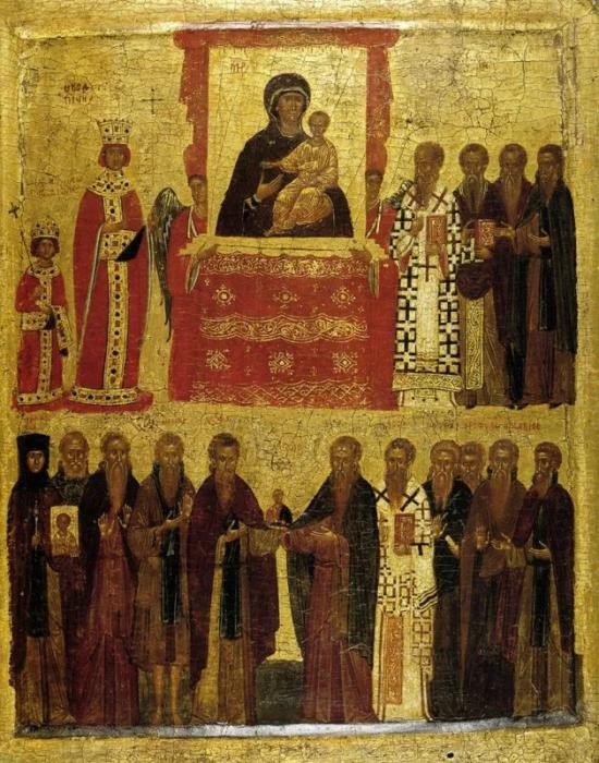 Торжество православия, 1400 год. / Фото: zhihu.com.
