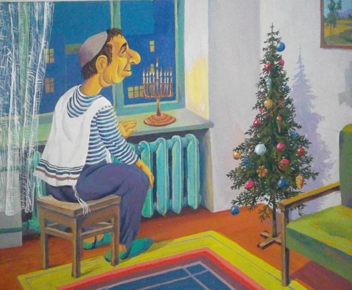 Новый год. Автор: Владислав Цап.