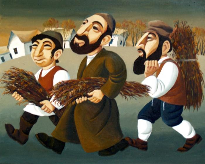 Три еврейских мужика. Автор: Владислав Цап.