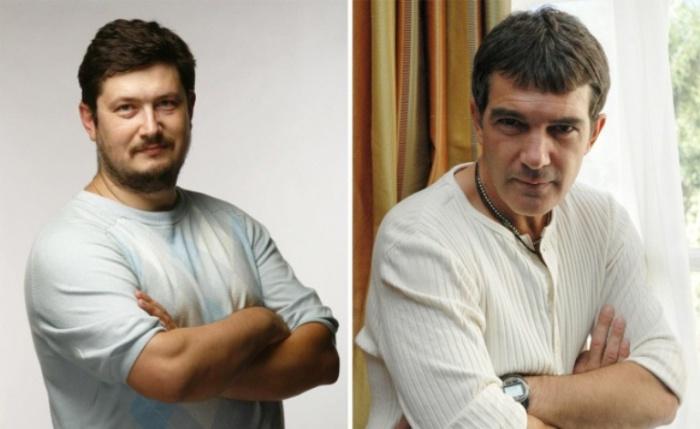 Роли озвучивали: Всеволод Кузнецов — Антонио Бандерас.