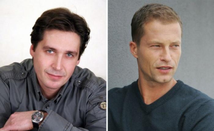 Роли озвучивали: Алексей Мясников — Тиль Швайгер.
