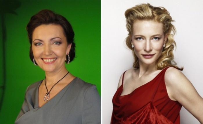 Роли озвучивали: Ольга Зубкова — Кейт Бланшетт.