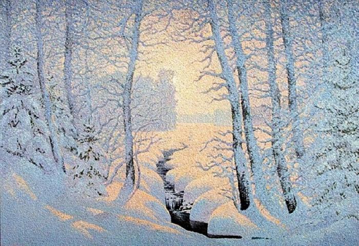 Красавица зима. Автор: Владимир Крылов.