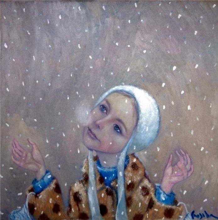 А снег идёт. Автор: Наталья Сюзева.