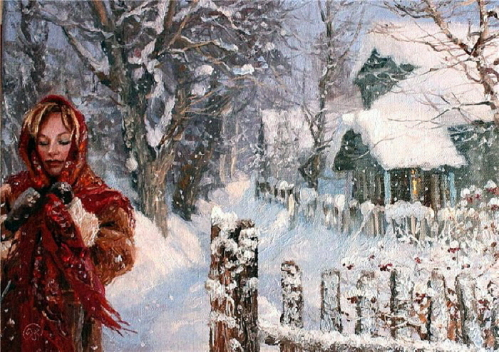Зима-холода. Автор: Владимир Жданов.
