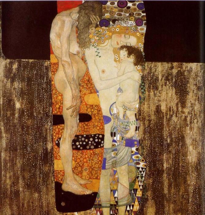 Климт «Три возраста женщины».