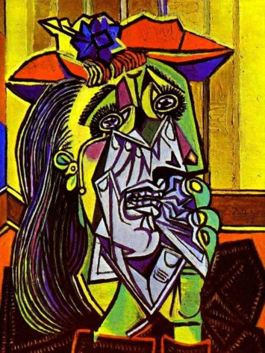 Пикассо «Плачущая женщина».