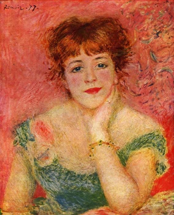Ренуар «Портрет Жанны Самари».