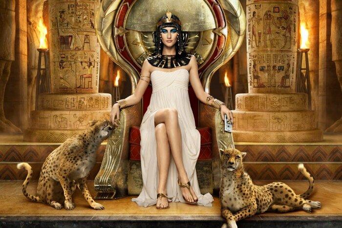 Царица Египта. \ Фото: dailymotion.com.
