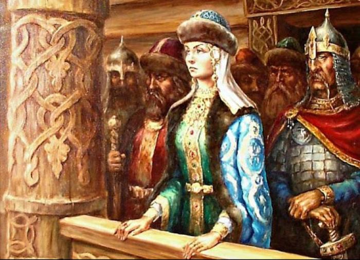 Княгиня Ольга. \ Фото: mynet.com.