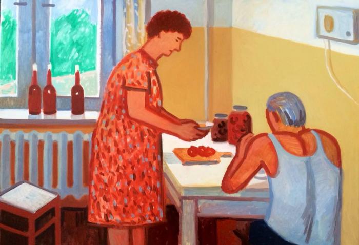 Муж и жена. Автор: Зоя Черкасская.