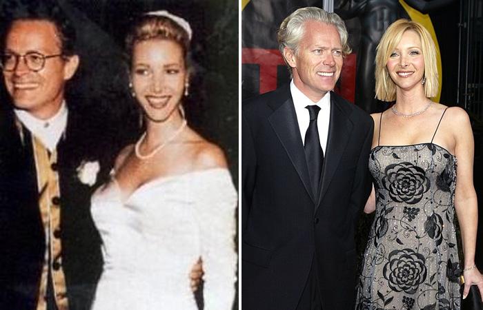 Пара познакомилась еще в 1987 году, но Лиза не восприняла его всерьез. Спустя несколько лет на съемках сериала «Друзья» они столкнулись вновь, у них завязался роман, и вскоре состоялась свадьба. У пары есть сын и 21 год счастливой семейной жизни.
