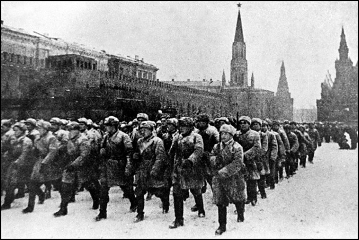 57 дней и ночей длился бы парад погибших победителей - советских людей, погибших во время войны