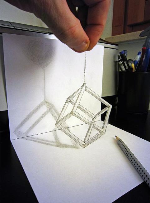 Удивительные трехмерные иллюзии