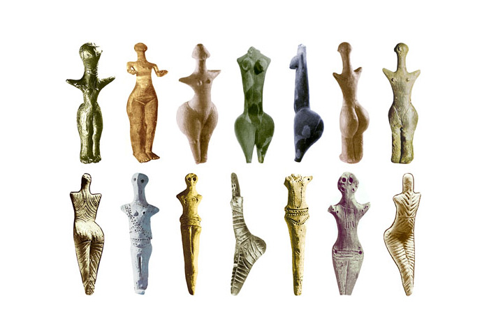 Скульптури Богинь 5300-4200 до н.е.