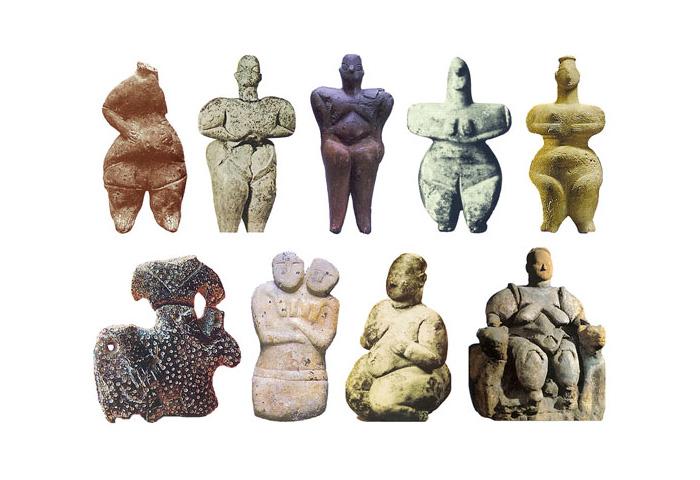 Великие Матери 6300-5300 до н.э.