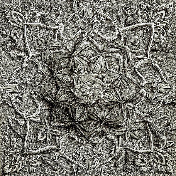 Искусство пера и туши A.M. Konahins
